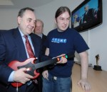 Salmond does Guitar Hero
