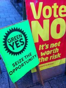 Green v Labour