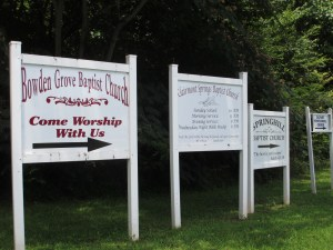 Church Signs - posted