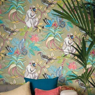 Cole & Son Ardmore Wallpaper - Savuti Wallpaper | Cole & Son Wallpapers | beut.co.uk