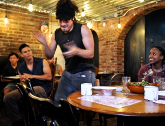Famed Percussion Group STOMP Makes Some Noise at East Village Sichuan Restaurant