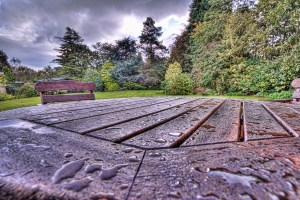Outdoor Table in HDR