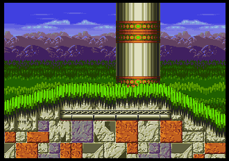 Background HQ :: Sonic the Hedgehog 3 - Marble Garden Zone