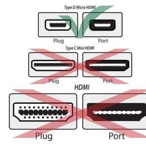 microhdmi to hdi