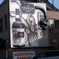 Kraken Black Spiced Rum: cracking design and concept