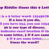 Whatsapp Riddle: Guess this 9 Letter Word