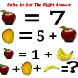 Solve to Get the Right Answer: Apple + Mango + Banana = ?