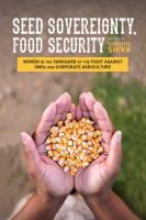 Seed Sovererignty Food Security