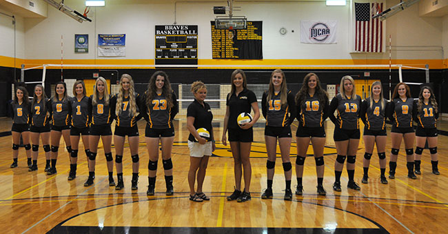 volleyball team 2015