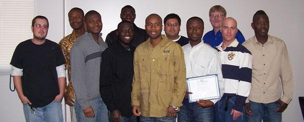 Welding Graduates March 4, 2011