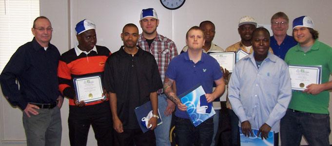 Welding Graduates May 3, 2011