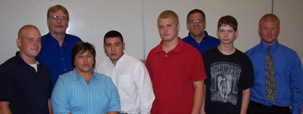 Welding Graduates July 14, 2011