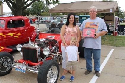 QC Vintage Rods Car Show President's Choice winner 9-2015