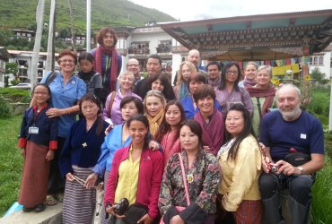 Annual Visit by Amici Del Bhutan-Italy