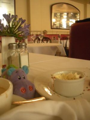 Lunch at the Fallon & Byrne restaurant, Dublin