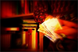 Pago bibliotecas (imagen de Julián Navarro para BiblogTecarios)
