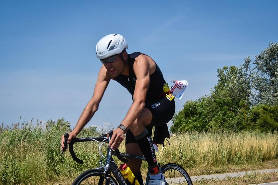 Andrei Dudu, cel mai bun român de la Ironman Oradea