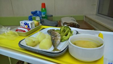Hospital food, Portuguese style.