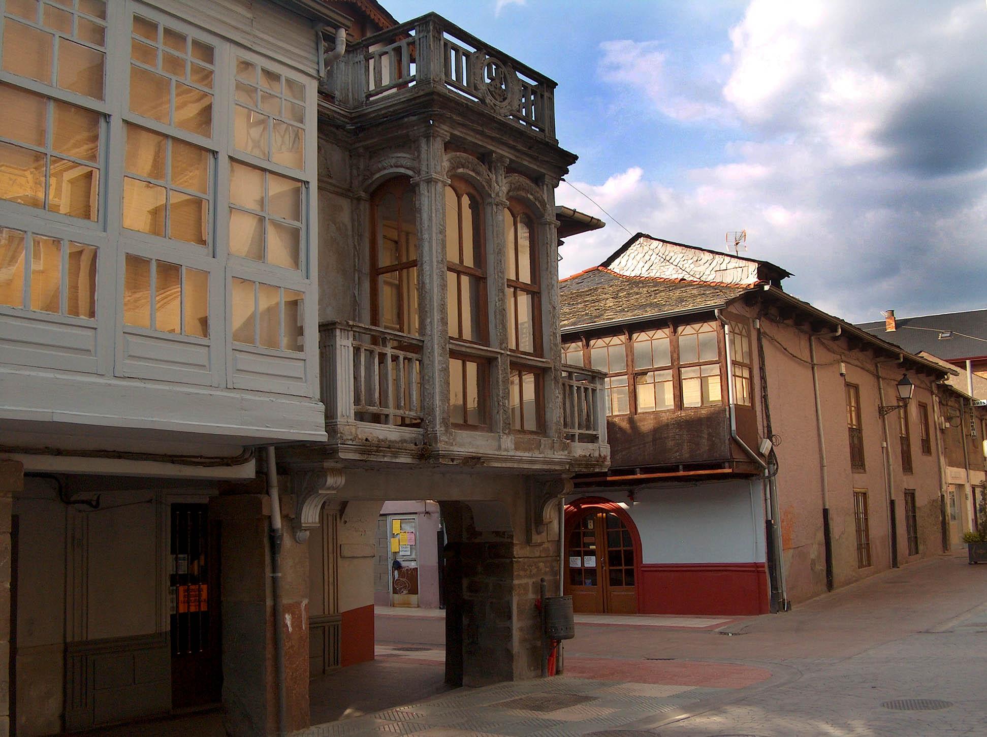Plaza en Bembibre
