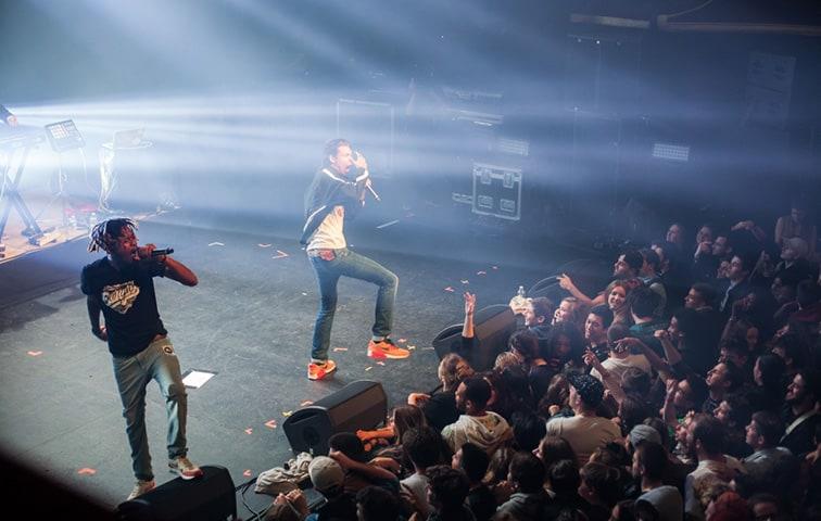 georgio concert nantes live report interview