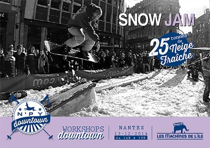 snow jam nantes nefs npy downtown