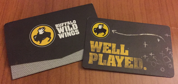 BDUBS gift card