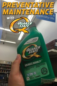 Preventative Maintenance With Quaker State