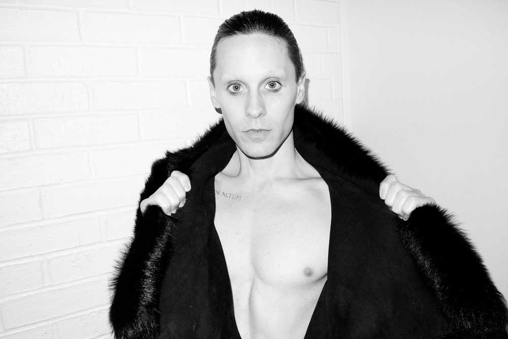 Jared Leto Looks Scary In New Terry Richardson Pics - Big ... Jared Leto Terry Richardson 2012