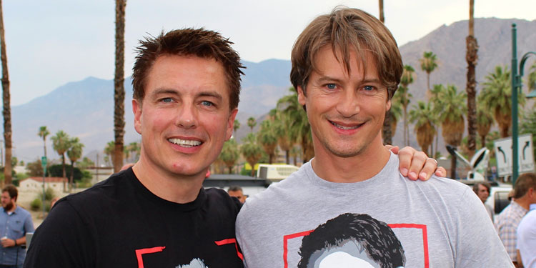 Whoops! John Barrowman Accidentally Reveals His Hubby's Family Jewels To The World (NSFW)