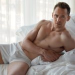 Tom Hiddleston Gets Down To his Underwear For W Magazine