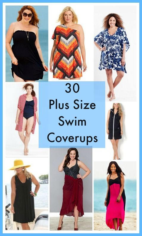 30 Great Plus Size Swim Cover Ups