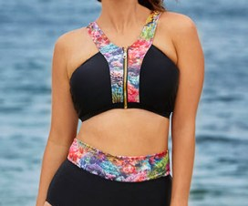 Plus size fashion for women swimsuit by laura wells on bigigrlsguide.com