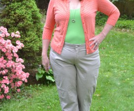 casual plus clothing worn by Sherry Aikens from BigGirlsGuide
