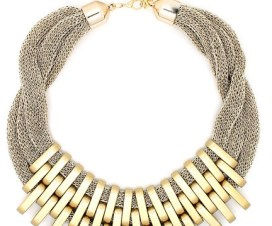 2 tone necklace