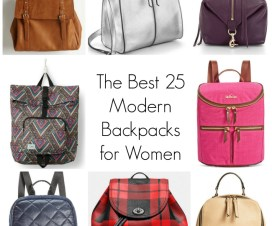 The best 25 Modern Backpacks for Women