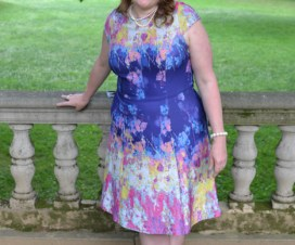 Plus size womens fashion Sherry Aikens Plus size blogger sherry aikens plus size dress