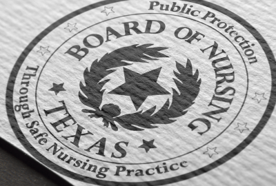Texas Board of Nursing Logo Design-Identity-Branding