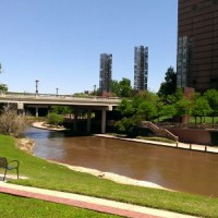 Burping the Buffalo Bayou - The Big Bubble in the Bayou & the Mysterious Red Button on the Preston Street Bridge