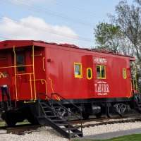 Tomball Train Depot Plaza - Visiting Houston Area Parks, One Week at a Time