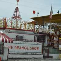 Half Day in Houston:  Visionary Art at the Orange Show and Smither Park
