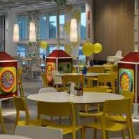 IKEA Restaurant... Sleek, easy and reasonably priced