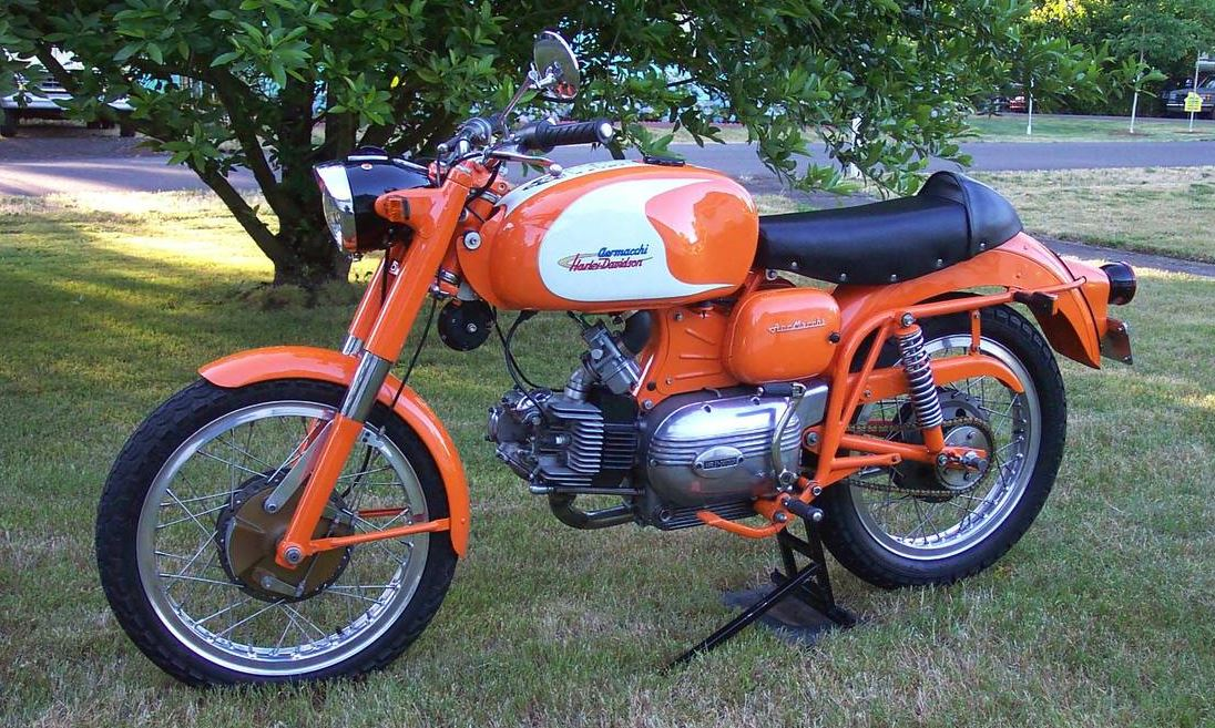 Green Wing Replica - 1972 Aermacchi Sprint 250 Ala Verde