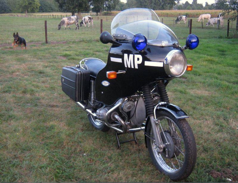Military Police - 1972 BMW R50/5