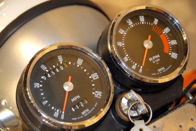 Ducati 500 GTL - Gauges