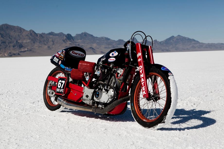 Price Unknown - Veteran Salt Flat Racer with 4 Harley Engines