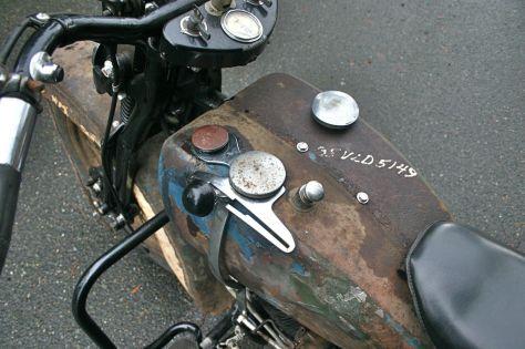 Harley Davidson VLD - Tank