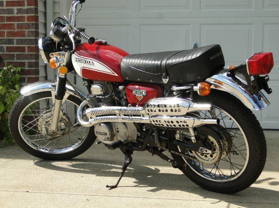 1973 Honda CL350 K5