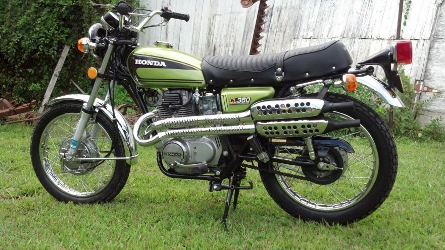 700 Miles 1974 Honda Cl360 For Sale Bike Urious