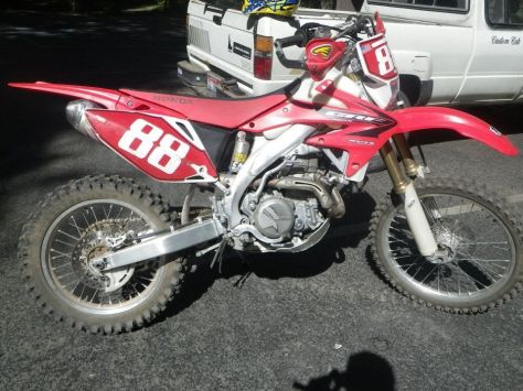Honda CRF450X - Right Side - Street