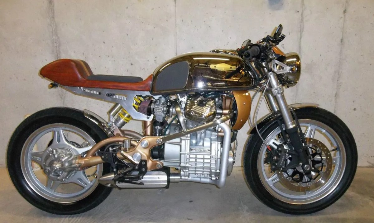 """Woody"" - 1979 Honda CX500 Custom"